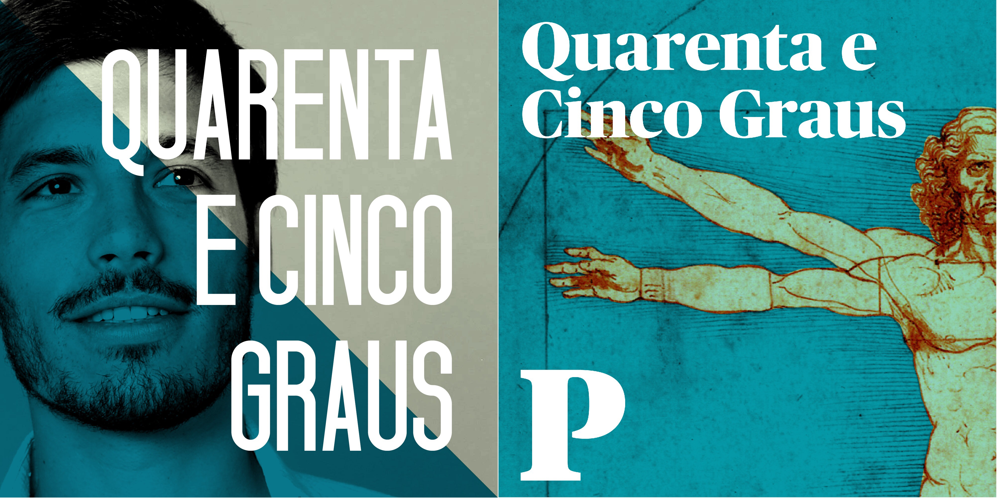 Logo for Quarenta e Cinco Graus